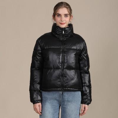 2020 Explosions Winter European and American Women's Cotton Jacket Short Bread Dress Bright cotton-padded jacket Women's Coat Tide