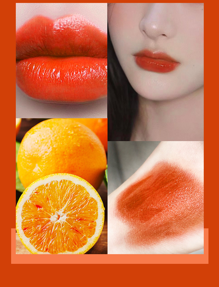 Three-color lipstick, a two-sided net red, the same style, moisturizing and moisturizing, not easy to fade 3