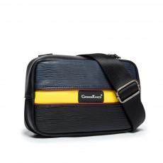 New men's small shoulder bag 2020 new cowhide single shoulder messenger bag leather mobile phone key bag casual camera bag