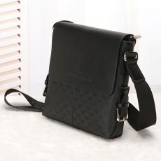Foreign trade men's bag fashion PU business shoulder bag vertical crossbody bag trendy men's casual bag foreign trade hot sale men's bag trend