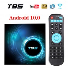 TV box Android 10.0 T95 H616 set-top box 6k HD network player 4+32/64