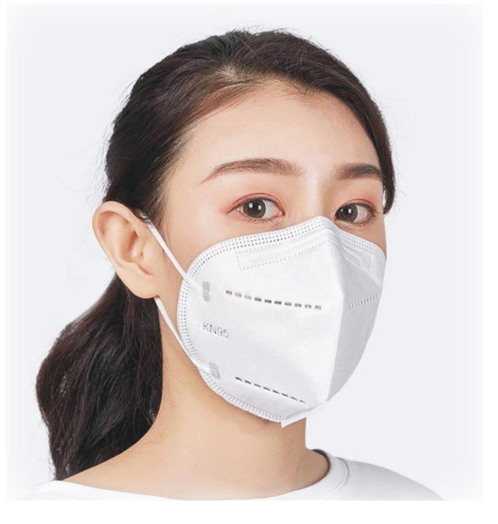 Nanqixing KN95 Respirator Masks Disposable Dust Smog PM2.5 Mask MOQ10000Pcs 3