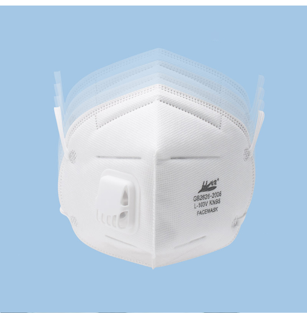 Harley L-103V KN95 Respirator PM2.5 Breathable Antibacterial Masks Non-medical 2