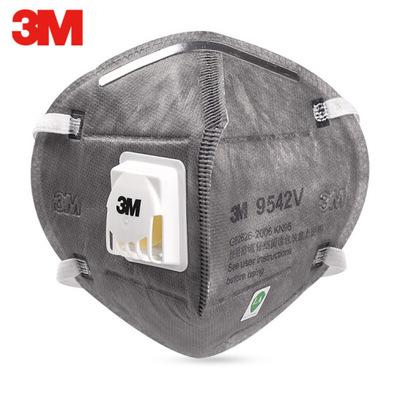 3M 9542V Upgrade KN95 Headband Folding Anti-organic Vapor Odor and Particulate Matter Mask Anti-smog 0