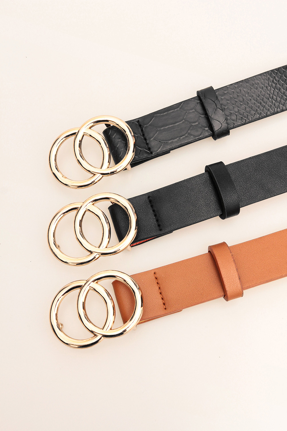 Double Round Decorative Attractive Unique Design With High Quality Belt For Women And Girls 6