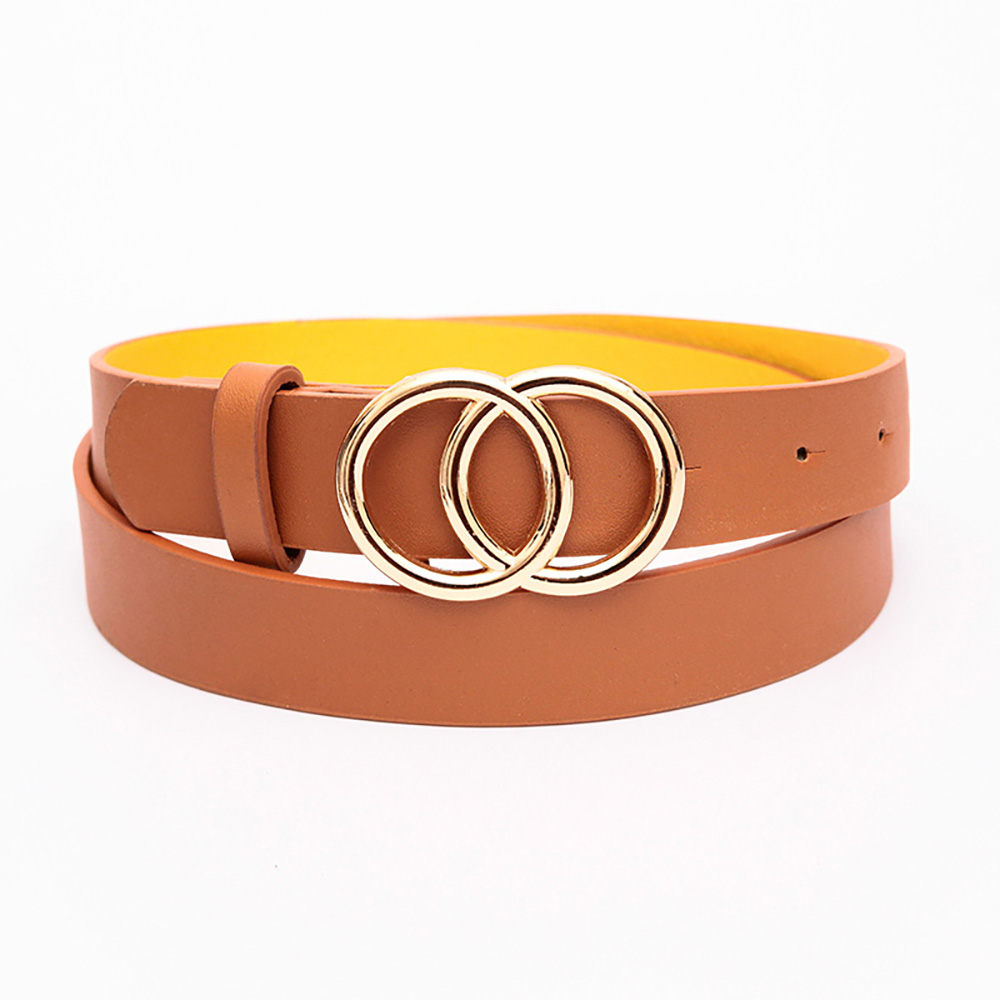 Double Round Decorative Attractive Unique Design With High Quality Belt For Women And Girls 2
