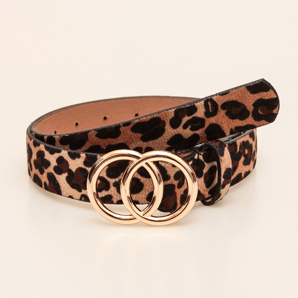 Double Round Decorative Attractive Unique Design With High Quality Belt For Women And Girls 3