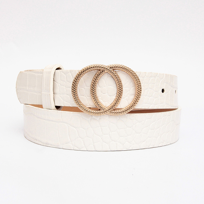 Ins Style Stylish Wild Decorative Belt With Simple Jeans Korean Version For Ladies 4