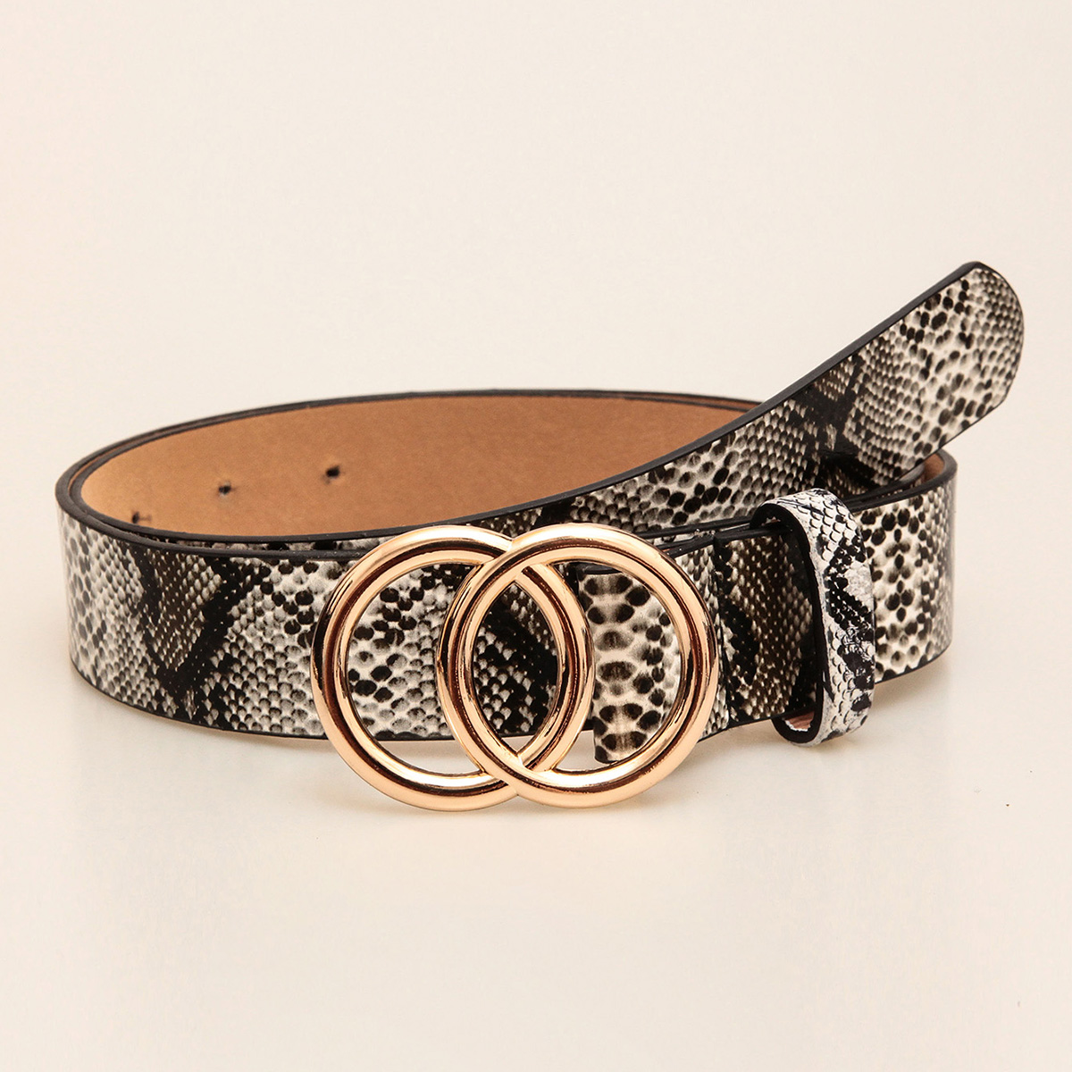 Double Round Decorative Attractive Unique Design With High Quality Belt For Women And Girls 4