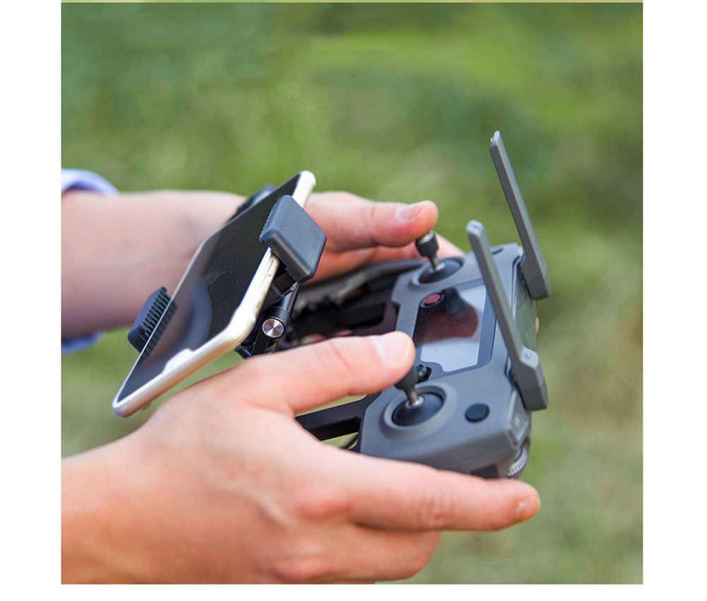Metal Tablet Remote Control Stand Phone Holder Base Tray For DJI Mavic / Mini / Pro 1 / Air / Mavic 2 Pro Zoom / Spark Drone For DJI 6