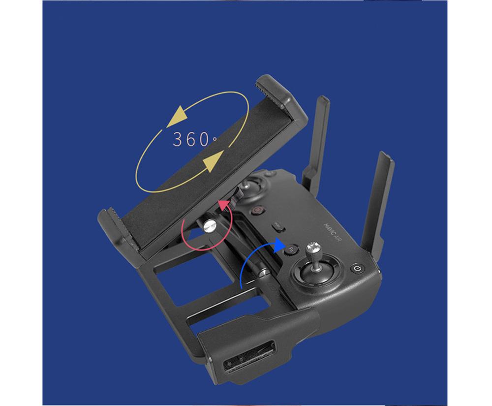 Metal Tablet Remote Control Stand Phone Holder Base Tray For DJI Mavic / Mini / Pro 1 / Air / Mavic 2 Pro Zoom / Spark Drone For DJI 4