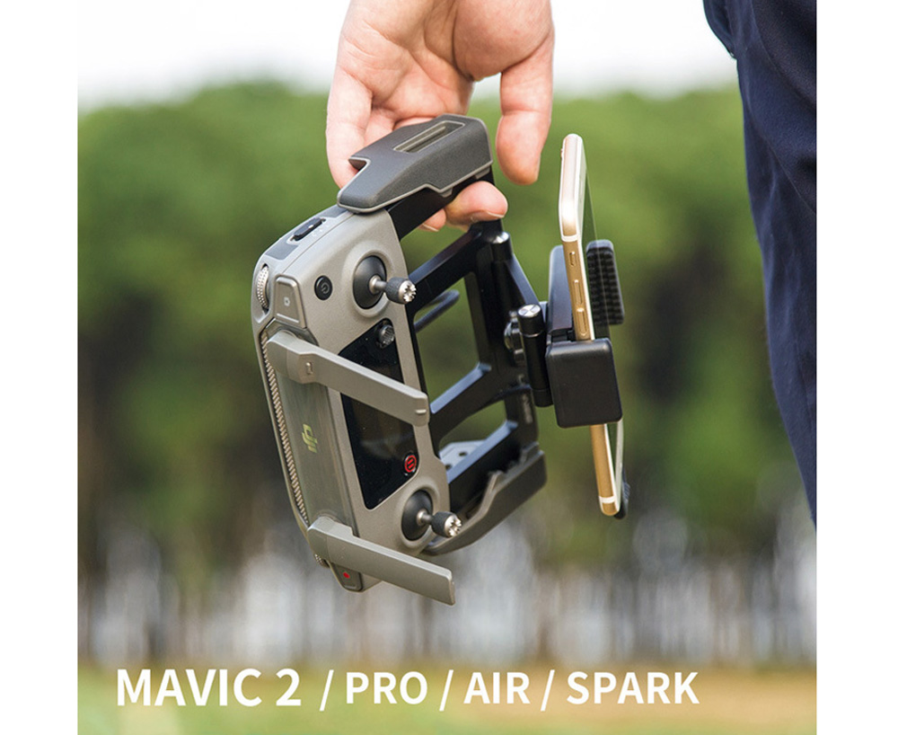 Metal Tablet Remote Control Stand Phone Holder Base Tray For DJI Mavic / Mini / Pro 1 / Air / Mavic 2 Pro Zoom / Spark Drone For DJI 5