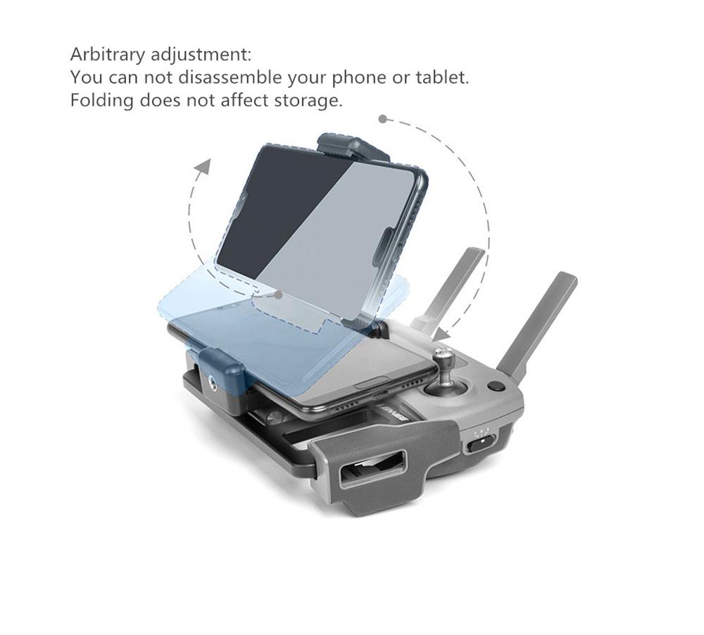 Metal Tablet Remote Control Stand Phone Holder Base Tray For DJI Mavic / Mini / Pro 1 / Air / Mavic 2 Pro Zoom / Spark Drone For DJI 2