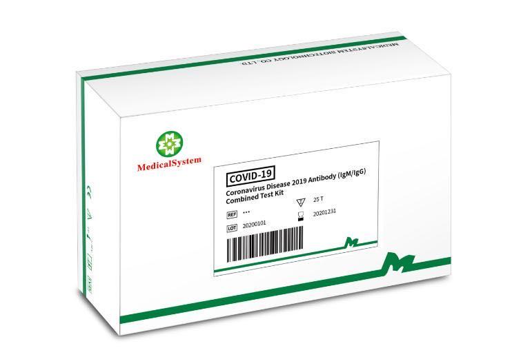Coronavirus Disease 2019 Antibody (IgG IgM) Combined Test Kit 0