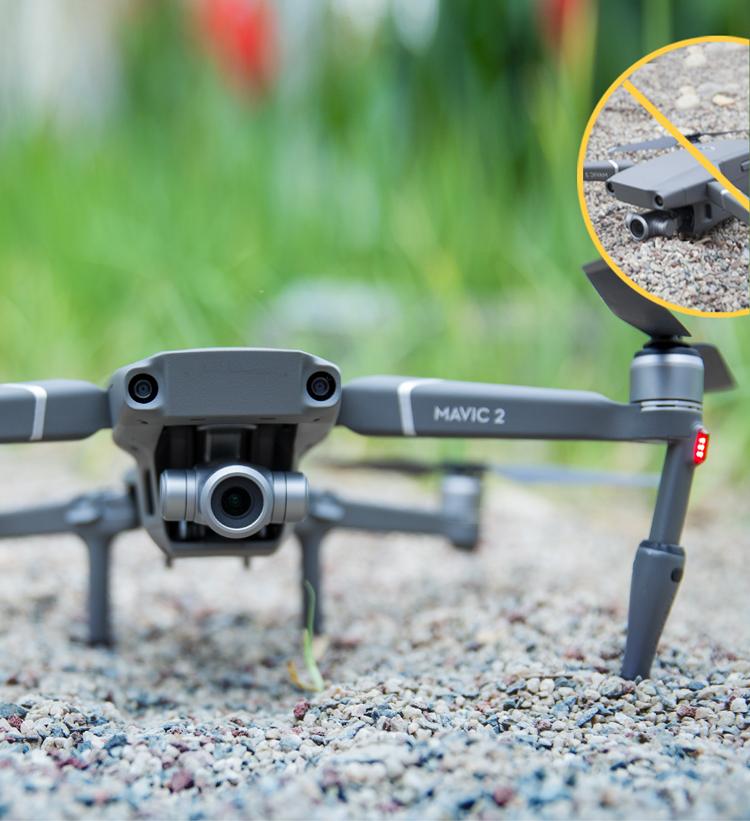 For Mavic 2 UAV Remote Control Screen Remote Rod Protective Cover Portable Anti-scratch Accessories Rocker Protector 2