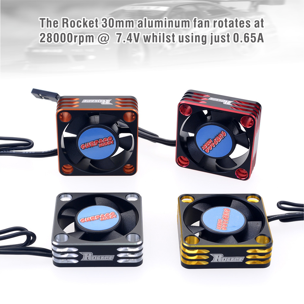 SURPASS-HOBBY's High-end Brand ROCKET High-speed Fan-28000RPM Motor ESC 0