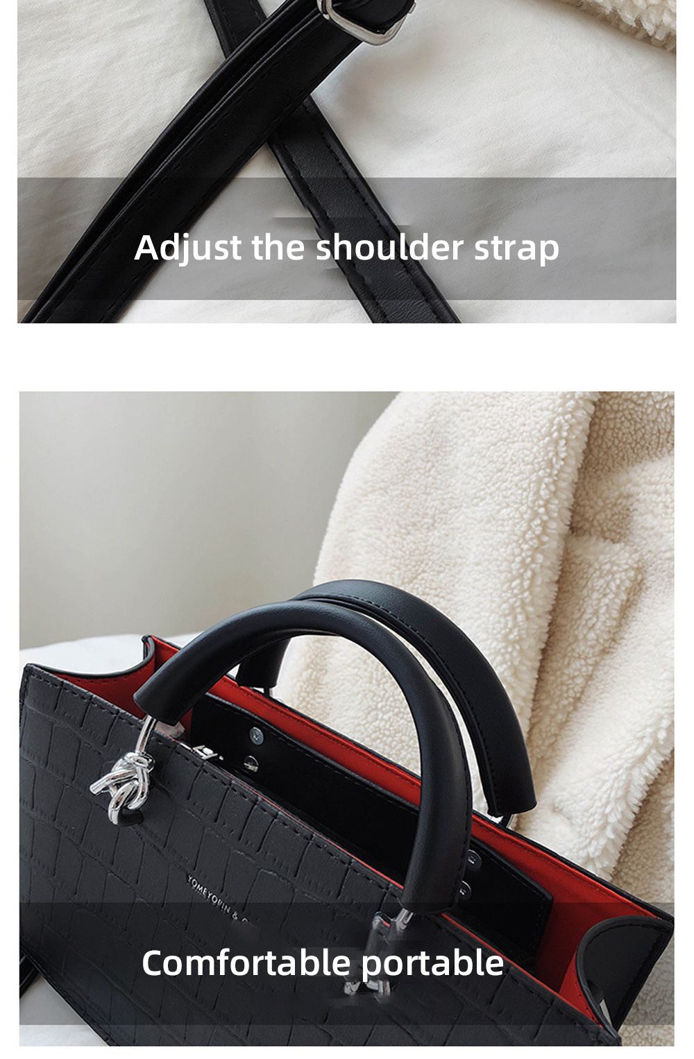 Crossbody Bags for Women PU material Small Square Bag Fashion Solid Color Ladies Bag Wild Messenger Bag For Women  10