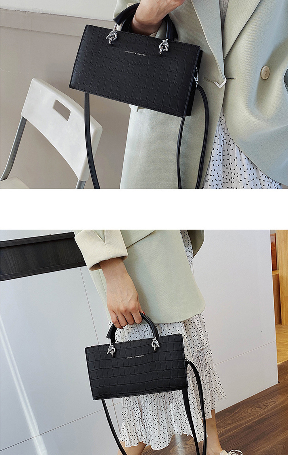Crossbody Bags for Women PU material Small Square Bag Fashion Solid Color Ladies Bag Wild Messenger Bag For Women  1