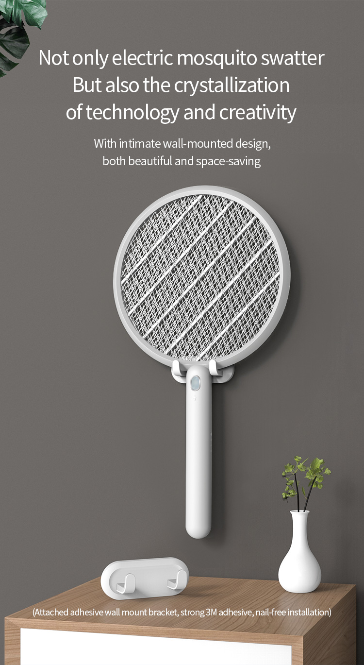Type-C-USB Charging Wall-mounted With Stylish And Fashionable Simple Design LED Mosquito Trap 2