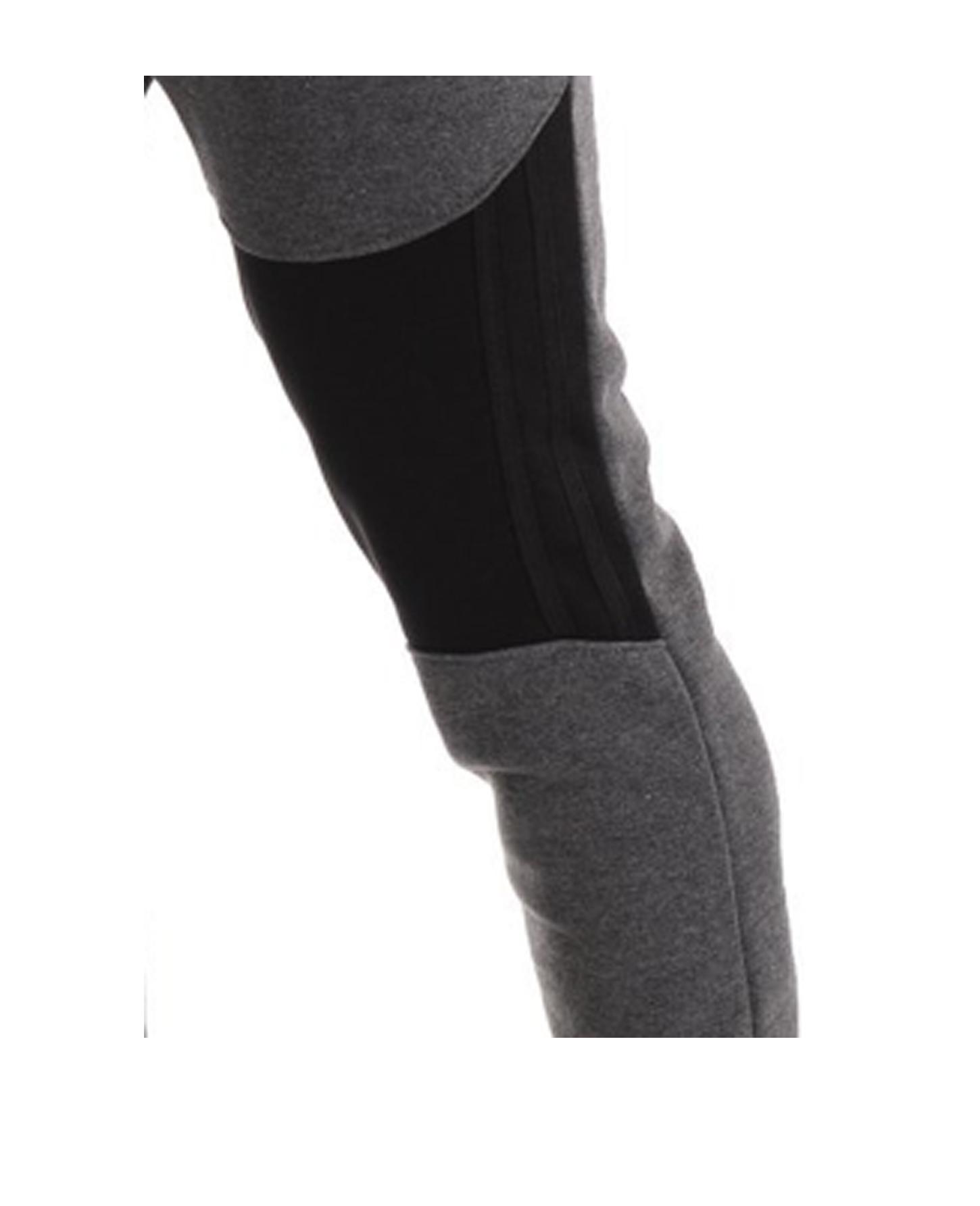 Men's Casual Zipper Stitching Trousers Autumn Pants Sports Jogging Pants 2020 New Men's Pants Tight Long Cotton Pants Sports Pants 4