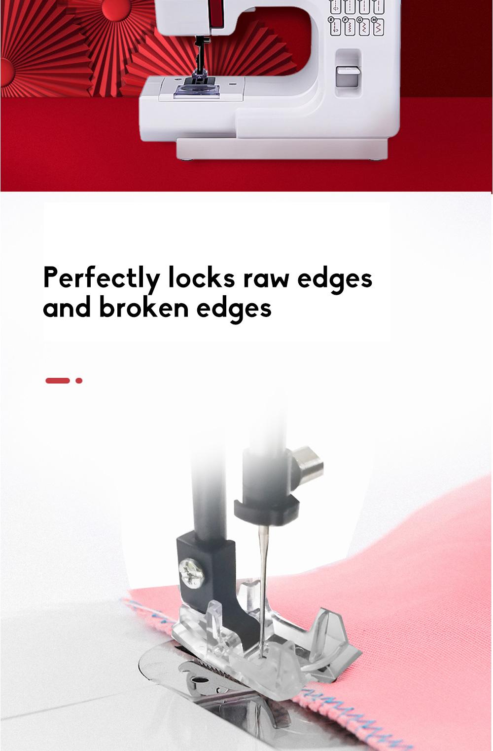 JANOME Electric Desktop Mini Home Sewing Machine Micro Bike Thick Multifunctional Manual Sewing  4