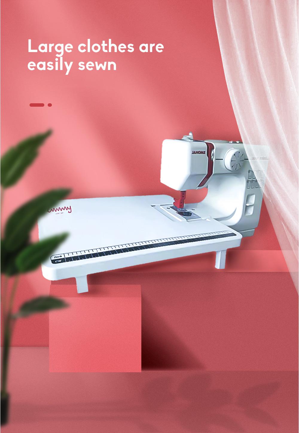 JANOME Electric Desktop Mini Home Sewing Machine Micro Bike Thick Multifunctional Manual Sewing  6