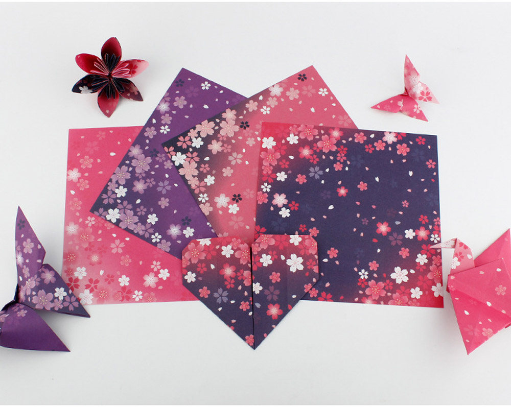 Children's Color Handmade Origami Material Origami Paper Craft With double-sided Origami Contains 60 sheets 3