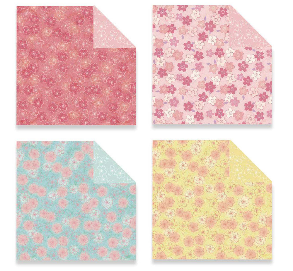 Children's Color Handmade Origami Material Origami Paper Craft With double-sided Origami Contains 60 sheets 12