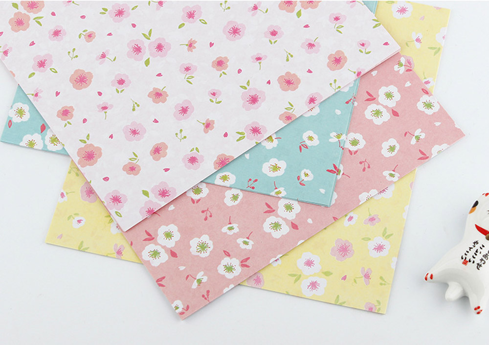 Children's Color Handmade Origami Material Origami Paper Craft With double-sided Origami Contains 60 sheets 16