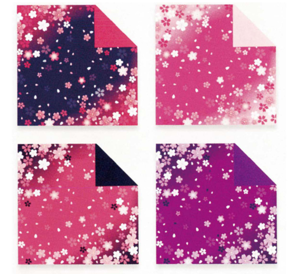 Children's Color Handmade Origami Material Origami Paper Craft With double-sided Origami Contains 60 sheets 2