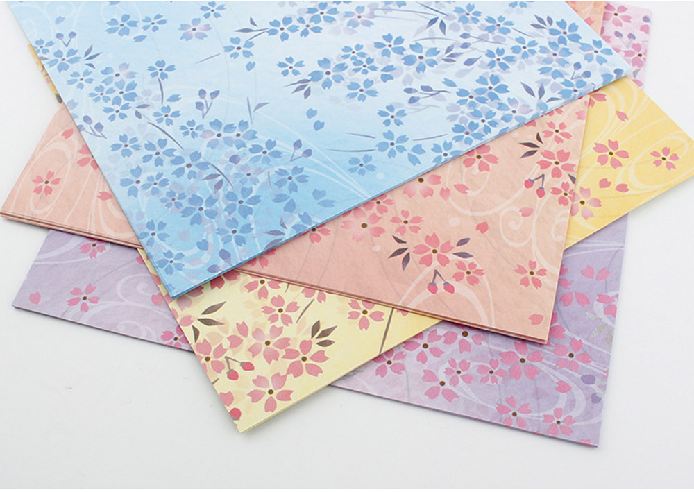 Children's Color Handmade Origami Material Origami Paper Craft With double-sided Origami Contains 60 sheets 8