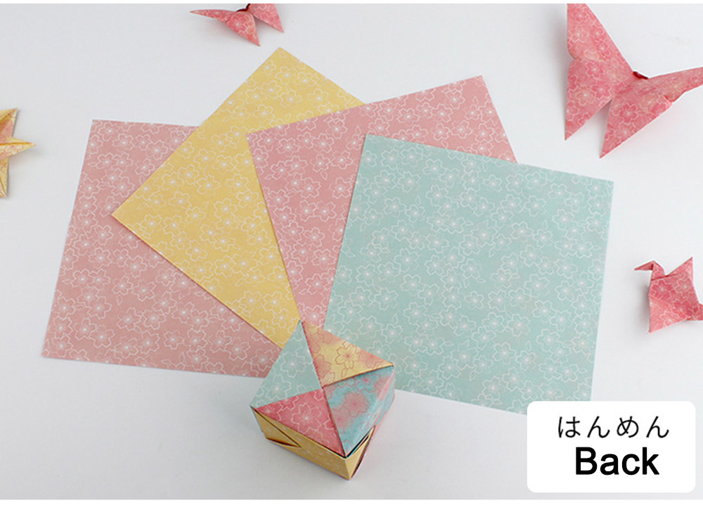 Children's Color Handmade Origami Material Origami Paper Craft With double-sided Origami Contains 60 sheets 14