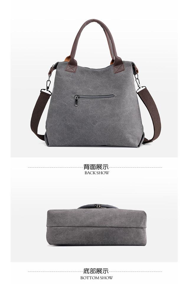 Women's Shopping Bag Large Ladies Canvas Shoulder Bags Tote Shopper Eco Reusable Bag Cotton Cloth Handbag for Women 2020 Beach 4
