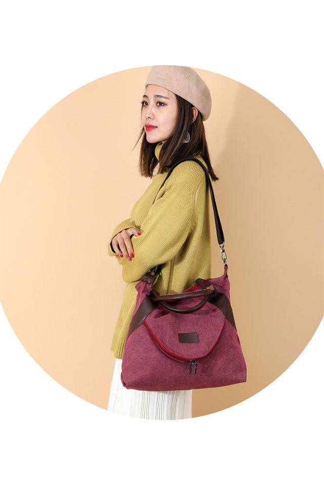 Women's Shopping Bag Large Ladies Canvas Shoulder Bags Tote Shopper Eco Reusable Bag Cotton Cloth Handbag for Women 2020 Beach 3