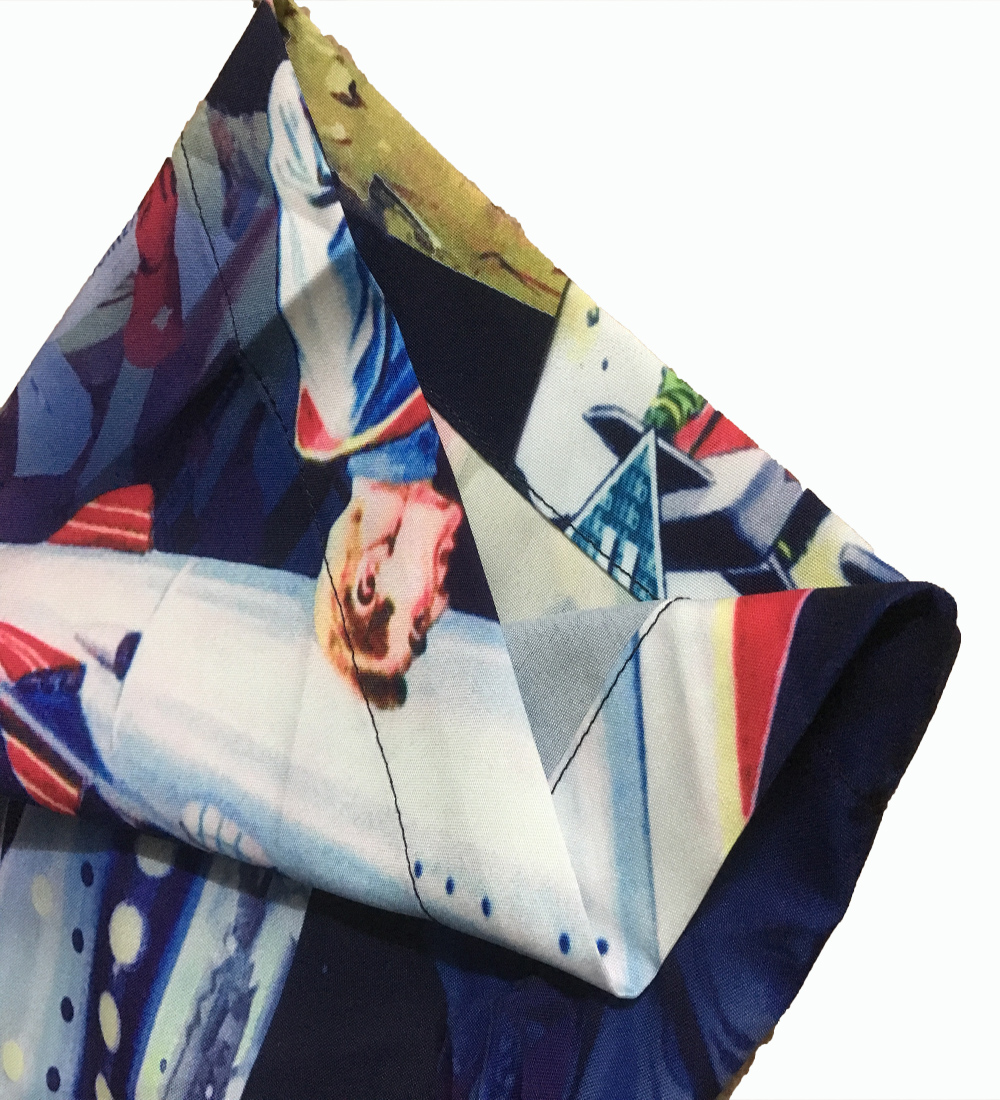 2020 Summer Couple Clothes Men And Women Street European Style Casual Superman Rocket Print Loose Lapel Short Sleeve Shirt 6