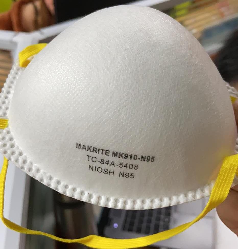 MAKRITE MK910-N95 NIOSH Approval Disposable Respirator Mask 9500 Upgrade Version 0