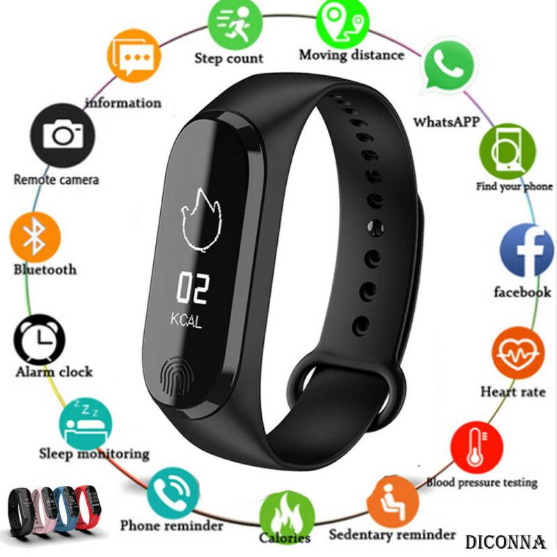 Smart Bracelet Y13/M3 Color Screen Pedometer Heart Rate Blood Pressure Blood Oxygen Sleep Monitoring Waterproof Smart Bracelet 4