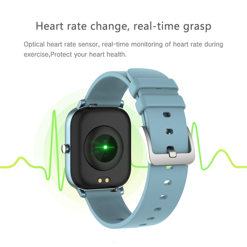 2020 New P8 Smart Watch 1.4 Inch High Definition Full Touch Screen Heart Rate And Blood Pressure Monitoring Bracelet 1