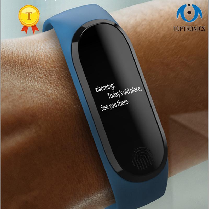 Smart Bracelet Y13/M3 Color Screen Pedometer Heart Rate Blood Pressure Blood Oxygen Sleep Monitoring Waterproof Smart Bracelet 1