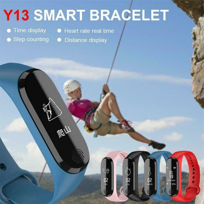 Smart Bracelet Y13/M3 Color Screen Pedometer Heart Rate Blood Pressure Blood Oxygen Sleep Monitoring Waterproof Smart Bracelet 5