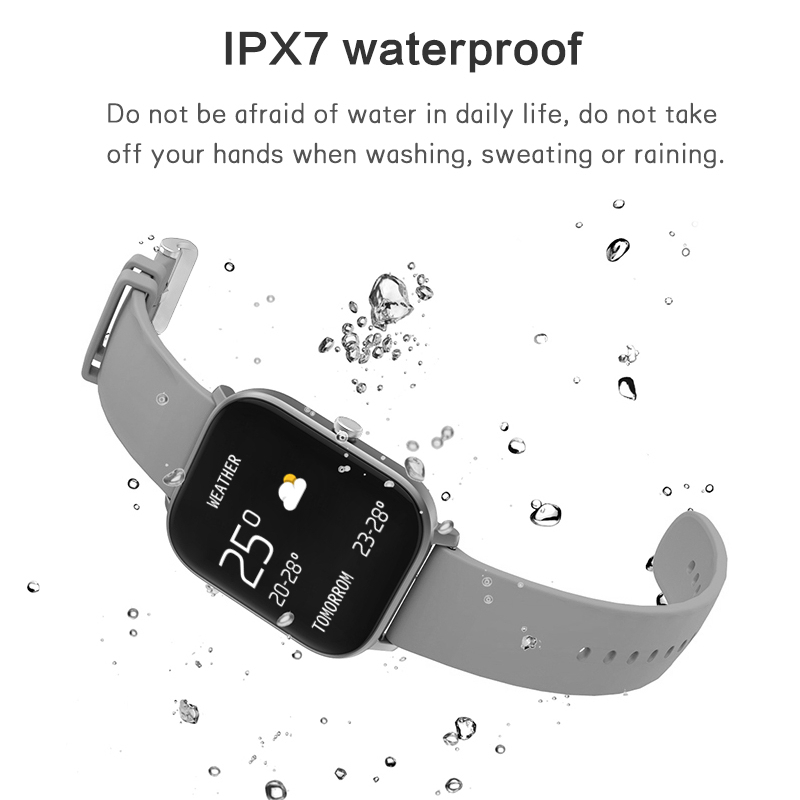 2020 New P8 Smart Watch 1.4 Inch High Definition Full Touch Screen Heart Rate And Blood Pressure Monitoring Bracelet 4