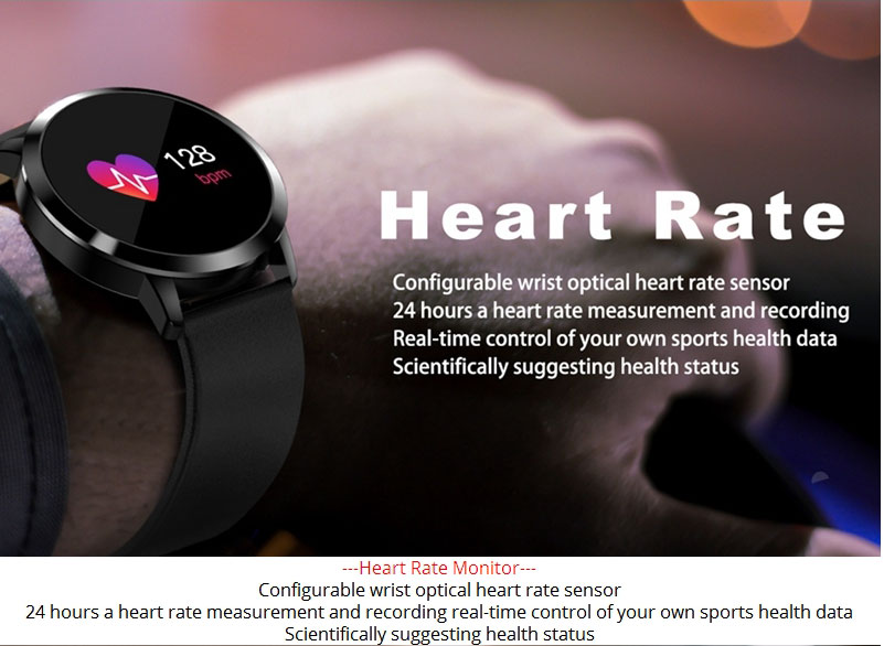 2020 New Q8 Color Screen Waterproof Sleep Heart Rate Blood Pressure Oximeter Step Exercise Super Long Battery Life Smart Bracelet 8