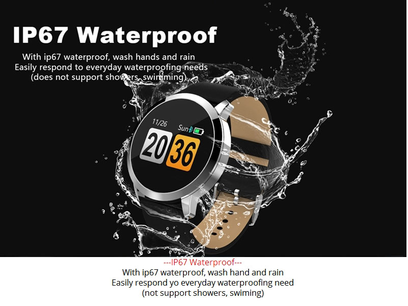 2020 New Q8 Color Screen Waterproof Sleep Heart Rate Blood Pressure Oximeter Step Exercise Super Long Battery Life Smart Bracelet 4