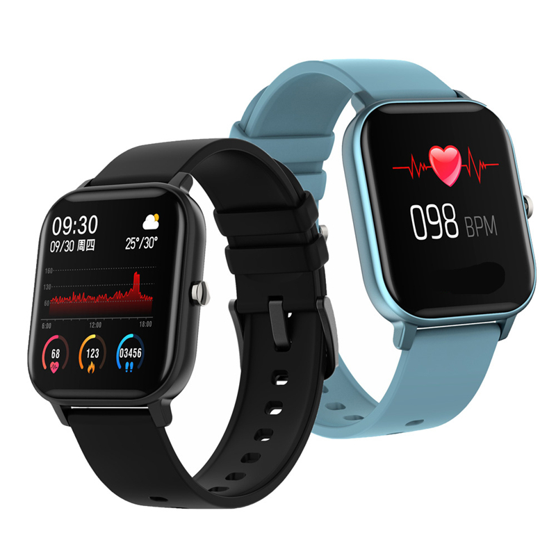 2020 New P8 Smart Watch 1.4 Inch High Definition Full Touch Screen Heart Rate And Blood Pressure Monitoring Bracelet 5
