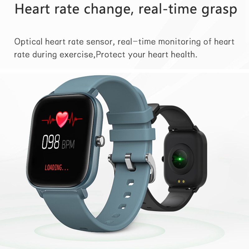 2020 New P8 Smart Watch 1.4 Inch High Definition Full Touch Screen Heart Rate And Blood Pressure Monitoring Bracelet 3