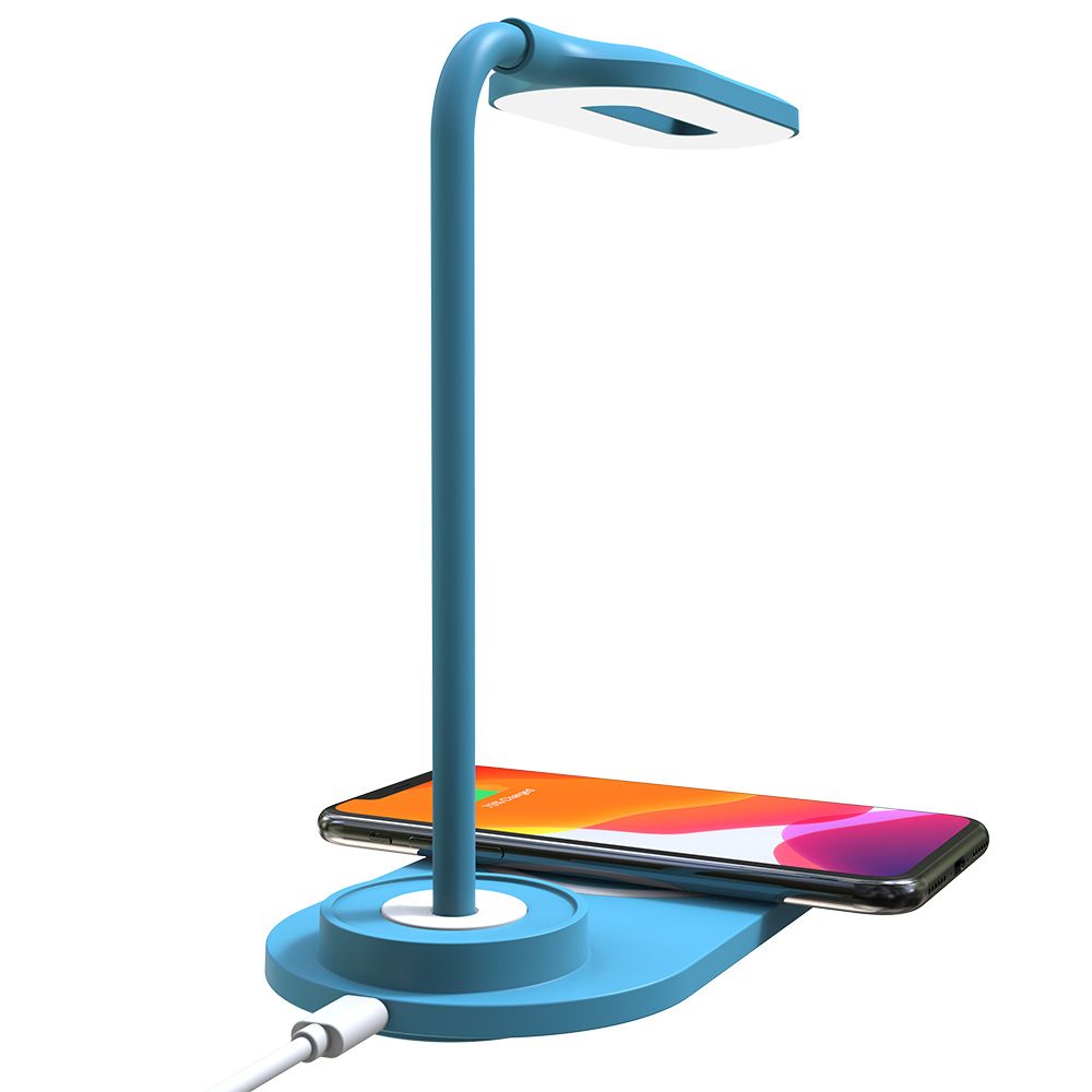 Creative Desk Lamp Wireless Charger Multi-function Gear Fast Charge Wireless Charger Outdoor Home Lighting 2