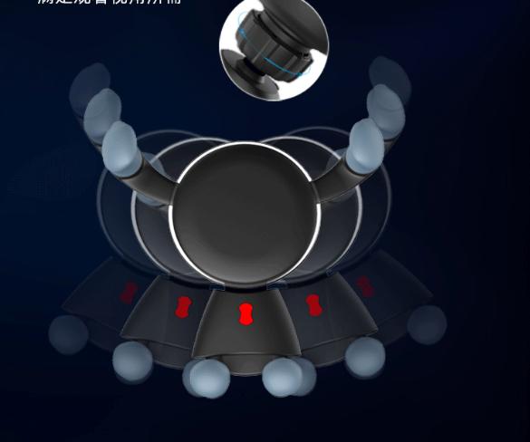 Creative Car Phone Holder Metal Gravity Sensor Car Holder Car Navigation Mobile Phone Universal Holder 0