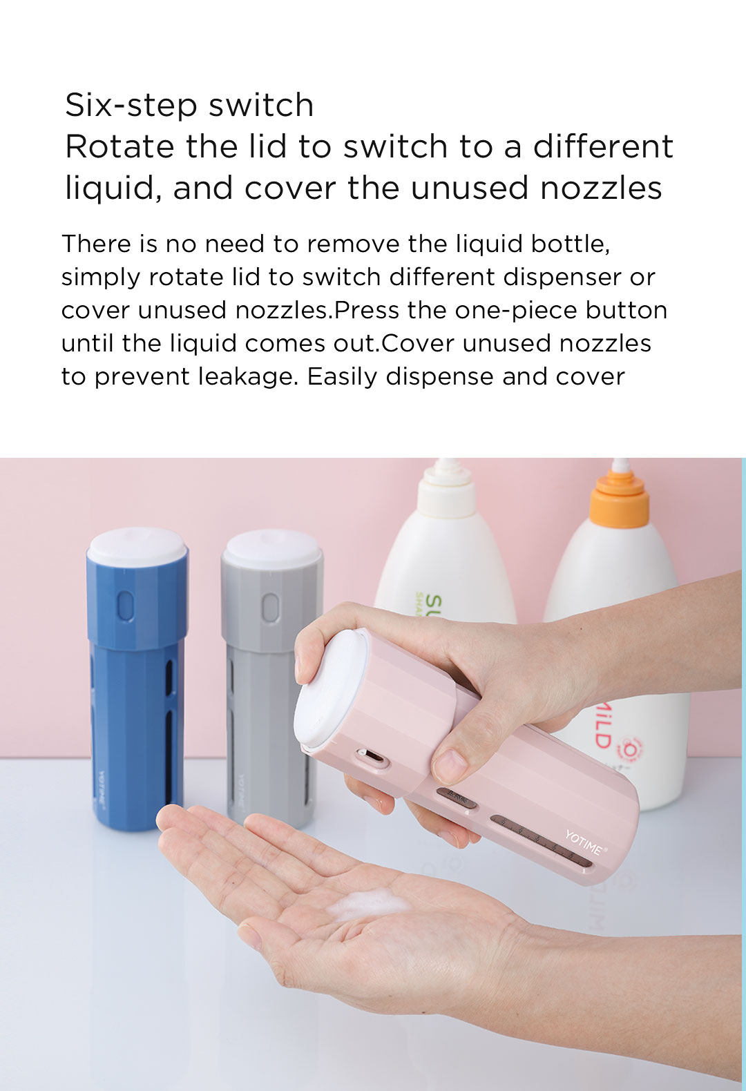 2020 New Portable Business Trip Outdoor Fitness Shower Gel Shampoo Skin Care Cosmetic Storage Bottle 3