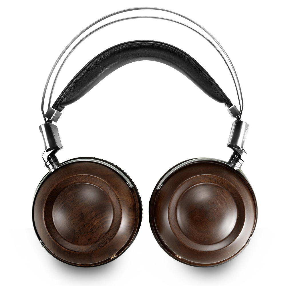 WHP860W High-end Headphones Head-mounted HIFI Walnut Alloy High-fidelity Mobile Computer Headset 2