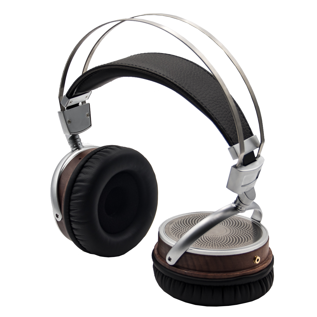 WHP860S Retro Trendy Head-mounted HIFI Walnut Alloy High-fidelity Mobile Computer Headset 0